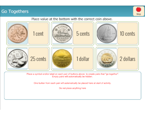 Math - Coin and Value Matching