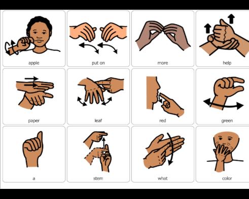 Help Sign Language Street Sign Wall