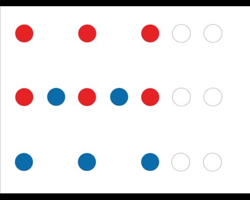 VBMAPP Math patterning 2-3 parts