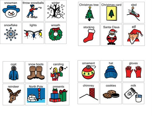 graphic regarding Hedbanz Cards Printable referred to as Xmas Hedbanz playing cards