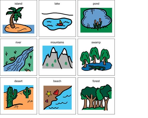 landforms rh boardmakeronline com Ocean Clip Art landforms clipart black and white