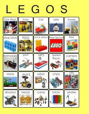 LEGO Bingo Game