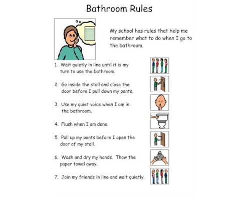 Bathroom Rules-1