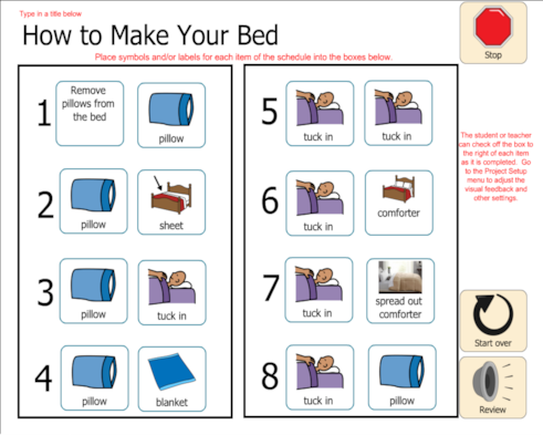 How To Make Your Bed Task Analysis
