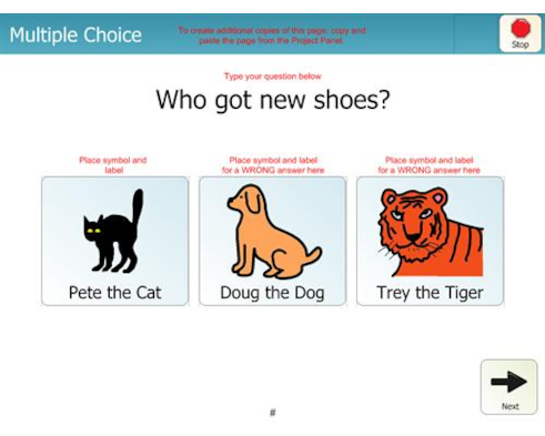 Pete the Cat I Love My White Shoes Comprehension Activity
