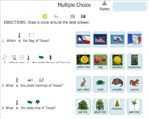 Texas Symbols Quiz